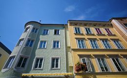 Linz, austria, old town Royalty Free Stock Photos