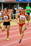 Linz Indoor Track and Field Meeting Stock Images