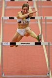 Linz Indoor Track and Field Meeting Stock Photo