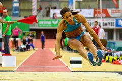 Linz Indoor Track and Field Meeting Stock Photos
