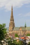 Linz, neue Kathedrale (Neuer Dom/Mariendom) Lizenzfreies Stockbild