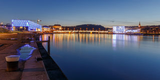 Linz at Night Stock Images