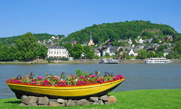 Linz,Rhein,Rhine Valley,Germany Stock Photos