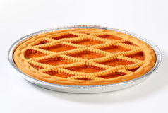 Linzer apricot tart Royalty Free Stock Photos