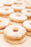 Linzer Cookies Stock Images