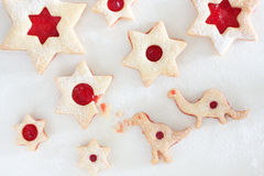 Linzer cookies Stock Photos