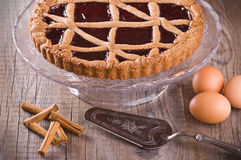 Linzer torte. Royalty Free Stock Image