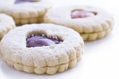 Linzer Torte Cookies Royalty Free Stock Photo