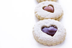 Linzer Torte Cookies Royalty Free Stock Image