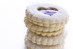 Linzer Torte Cookies Stock Images