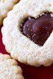 Linzer Torte Cookies Stock Image