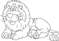 Lion illustration de vecteur