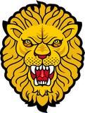Lion. Roaring Lion Head Tattoo .Vector image Royalty Free Stock Photo