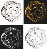 lion stock illustrationer