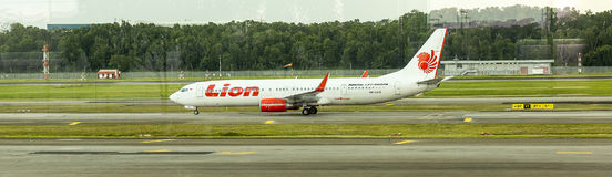 Lion Air Arkivfoton