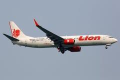 Lion Air Boeing 737-900ER flygplan Arkivfoto