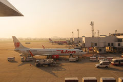 Lion Air tailandese Fotografie Stock