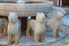 Lion Alhambra photo Stock Photos