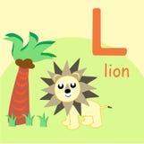 Lion Alphabet Fun Design Foto de archivo libre de regalías