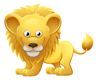Lion Animal Cartoon Character Photographie stock