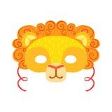 Lion Animal Head Mask, elemento del costume di travestimento di carnevale dei bambini Immagini Stock