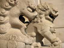Free Lion At Jing An Temple Stock Photography - 635962