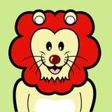 Lion avatar Royalty Free Stock Image