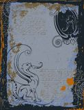 Lion avec des ailes Image libre de droits