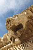 Lion in Baalbek Stock Photo