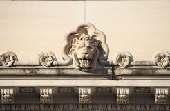Lion basrelief Royalty Free Stock Photography