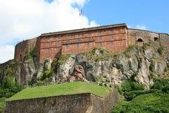 The Lion of Belfort. Monumental sculpture in Belfort, France Stock Images