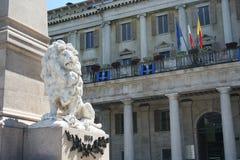 Lion Bergamo Lombardy Italy Stock Photos