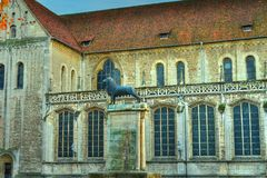 Lion of Braunschweig (HDR) Stock Photography