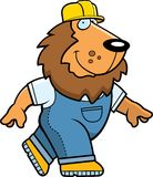 Lion Builder Stock Photo
