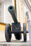 The Lion cannon in Moscow Kremlin. UNESCO World Heritage Site. Royalty Free Stock Images