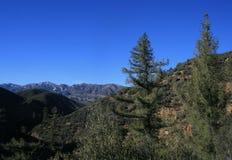 Lion Canyon Panorama Stock Photography
