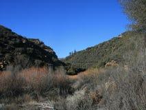 Lion Canyon Panorama2 Stock Image