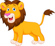 Lion cartoon Royalty Free Stock Image