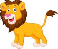 Lion cartoon. Illustration of Lion cartoon character Royalty Free Stock Image
