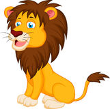 Lion cartoon Stock Images