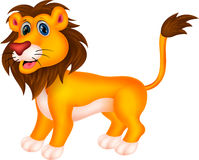 Lion cartoon Royalty Free Stock Images