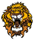 Lion cartoon Mascot Illustration Royalty Free Stock Photo
