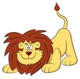 Lion cartoon Stock Image