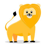 Lion cartoon vector Royalty Free Stock Photography