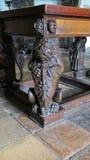 Lion Carving Photos stock
