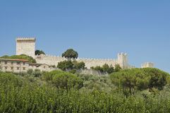 Lion Castle. Castiglione del Lago. Umbria. Royalty Free Stock Images