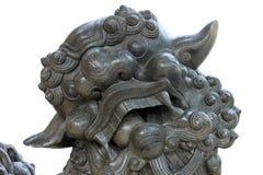 Lion chinois photo stock