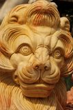 Lion. Close up of a Marble Lion at one of the marble cutting factories near Da Nang, Vietnam Stock Photo