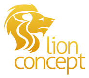 Lion concept design Royalty Free Stock Photo
