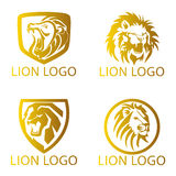 Lion Concept Logo Stock Photo